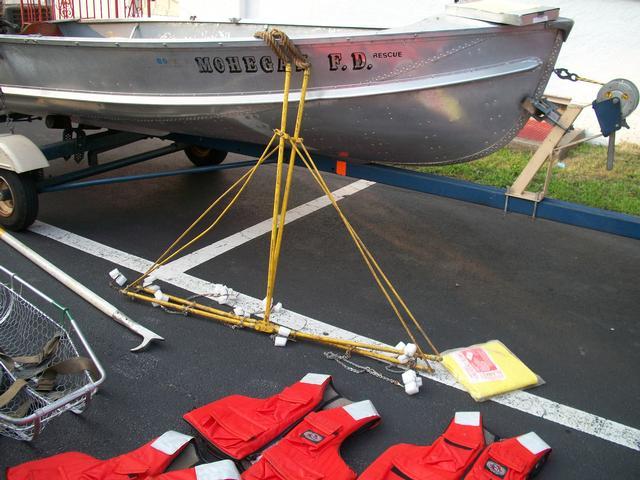 Boat Drill On Lake Mohegan Mohegan Volunteer Fire