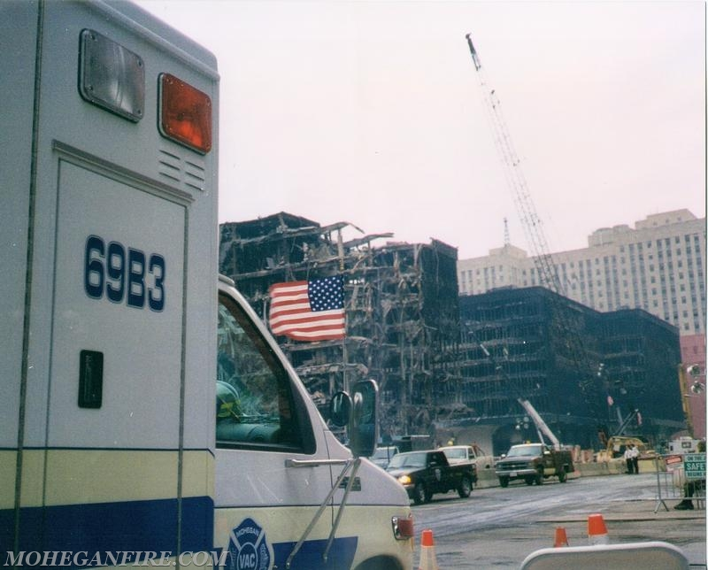 69B3 Standing By At Ground Zero In The Days That Follow