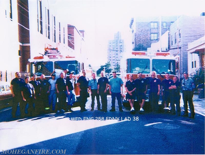 Engine 258 And Ladder 38