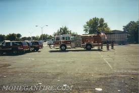 Staging At Yonkers Raceway 9/12/01