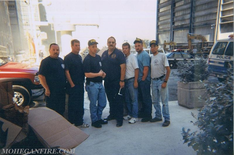 Mohegan Firefighters At Ground Zero 9/13/01