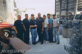 Mohegan Firefighters At Ground Zero 9/13/01