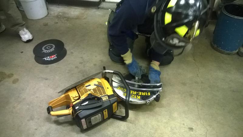 ventilation saws small engine training mohegan volunteer fire