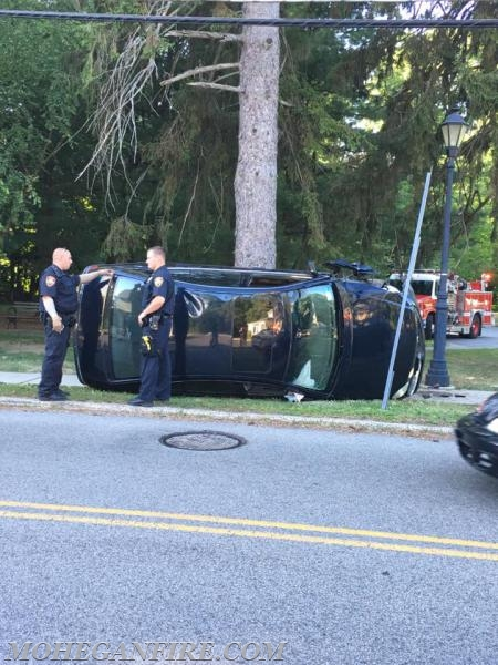 2 Accidents Within Minutes Mohegan Volunteer Fire