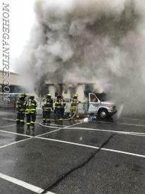 Wed. 3/7/18: The Home Depot/Motor Home Fire